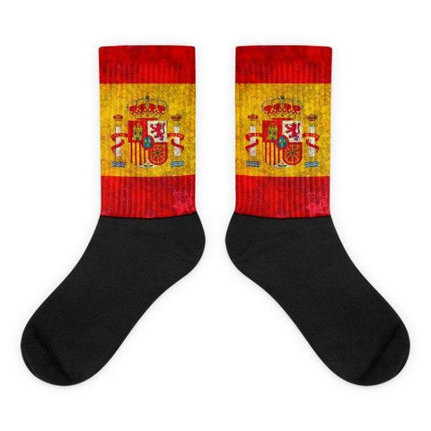 Spanish Flag Socks - Nation Love