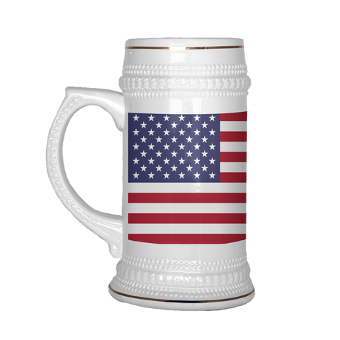American Coat of Arms 22oz Beer Stein, Beer Mug