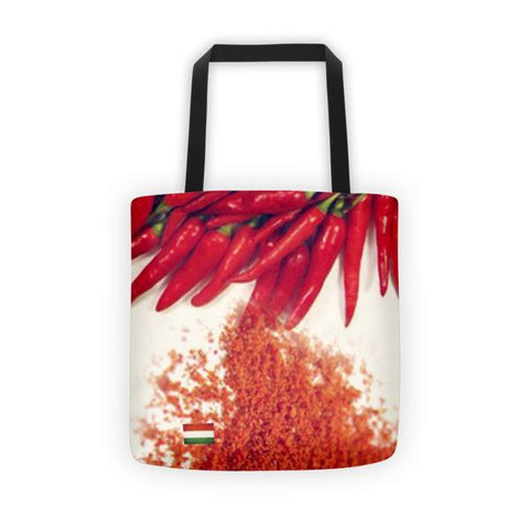 Hungarian Paprika Printed Tote Bag - Nation Love