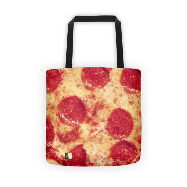 Italian Pizza Printed Tote Bag - Nation Love