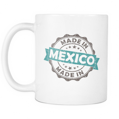 Made in Mexico 11oz Coffee Mug - Nation Love