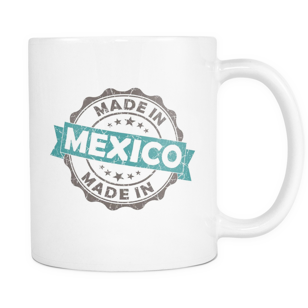 Made in Mexico 11oz Coffee Mug- Nation Love