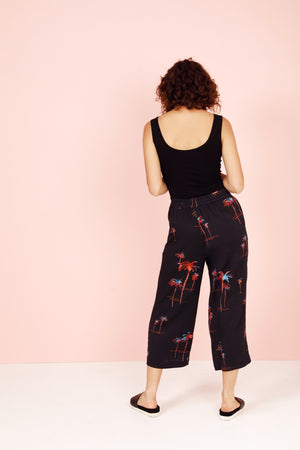 Palm-a-rama Wide Leg Pants