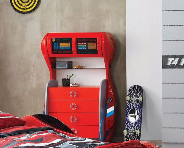 Kids ABS GAS Station Chest of Drawers