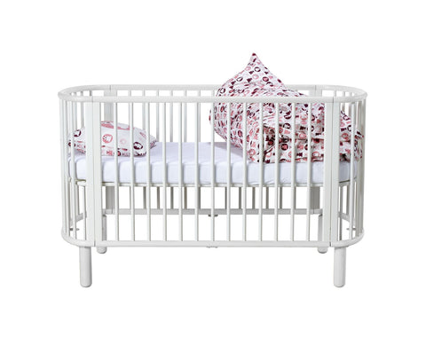 FLEXA Baby 5-in-1 Cot Bed + FREE MATTRESS