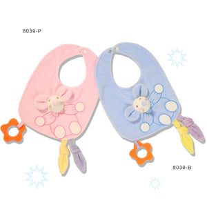Baby Bib -with teething toy