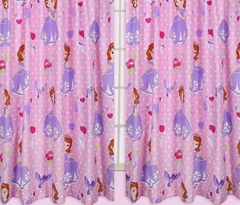 Sofia Kids Curtains (Lined&Unlined)