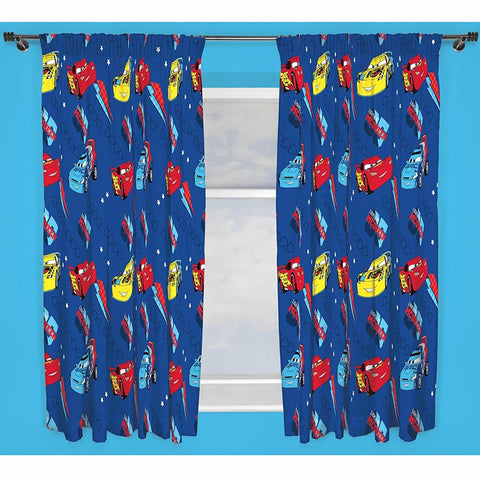 McQueen Kids Curtains (Lined&Unlined)