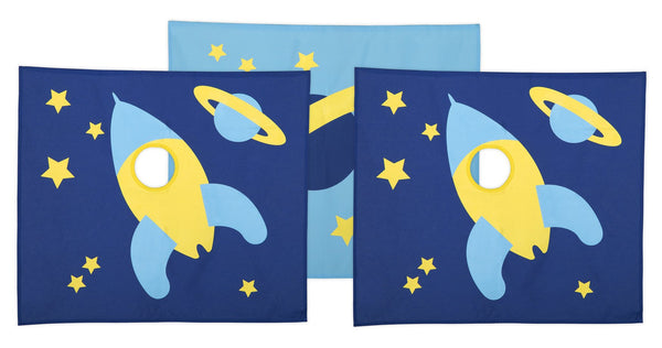 FLEXA SPACE Play Curtains For Mid & High Sleepers