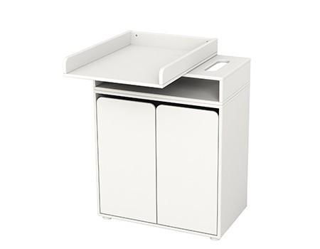 FLEXA Swivel Top Changing table with 2 doors