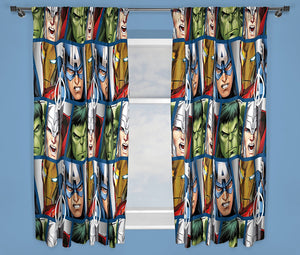 Avengers Kids Curtains (Lined&Unlined)