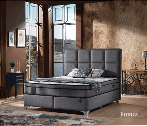 Fumat Bed Set-Upholstered