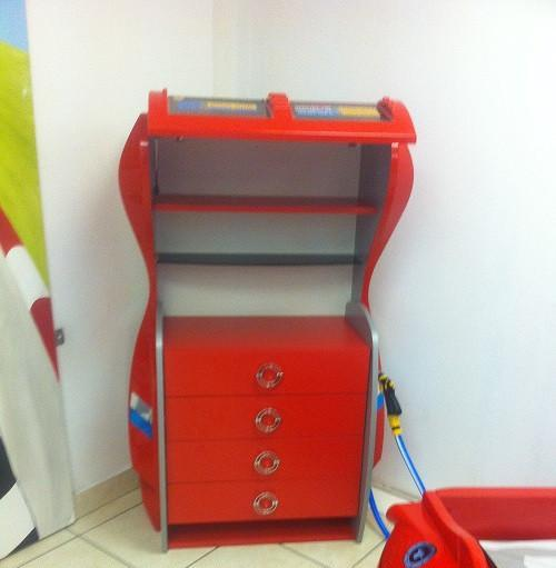 GAS Station Dresser-RED -  - 3