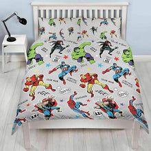 Load image into Gallery viewer, Marvel Kids Duvet Sets