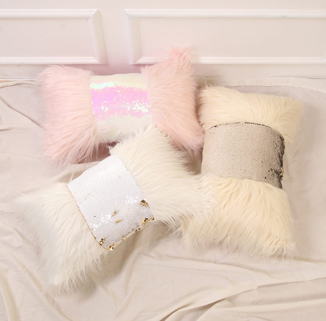 Sequin Rectangle Pillow