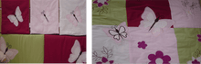 Load image into Gallery viewer, Butterfly 9 Piece Cot Linen Set - Dreamerz Designer Furniture