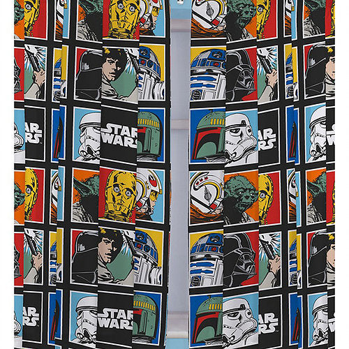 StarWars Kids Curtains (Lined&Unlined)