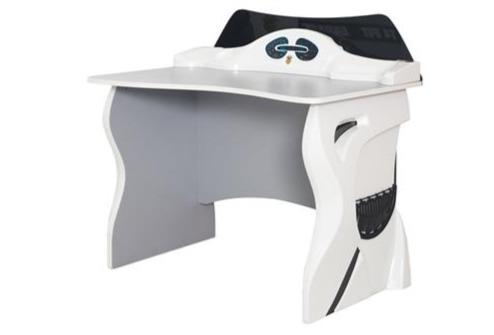 ABS Dash Racer Desk-White - Dreamerz Designer Furniture