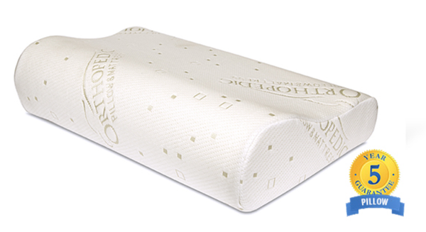 Curved Orthopedic Memory Paedic Pillows