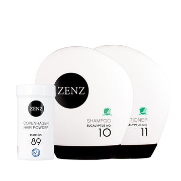 Grease Control: No.10 Eucalyptus Shampoo+No.11 Eucalyptus Conditioner+No.89 Hair Powder