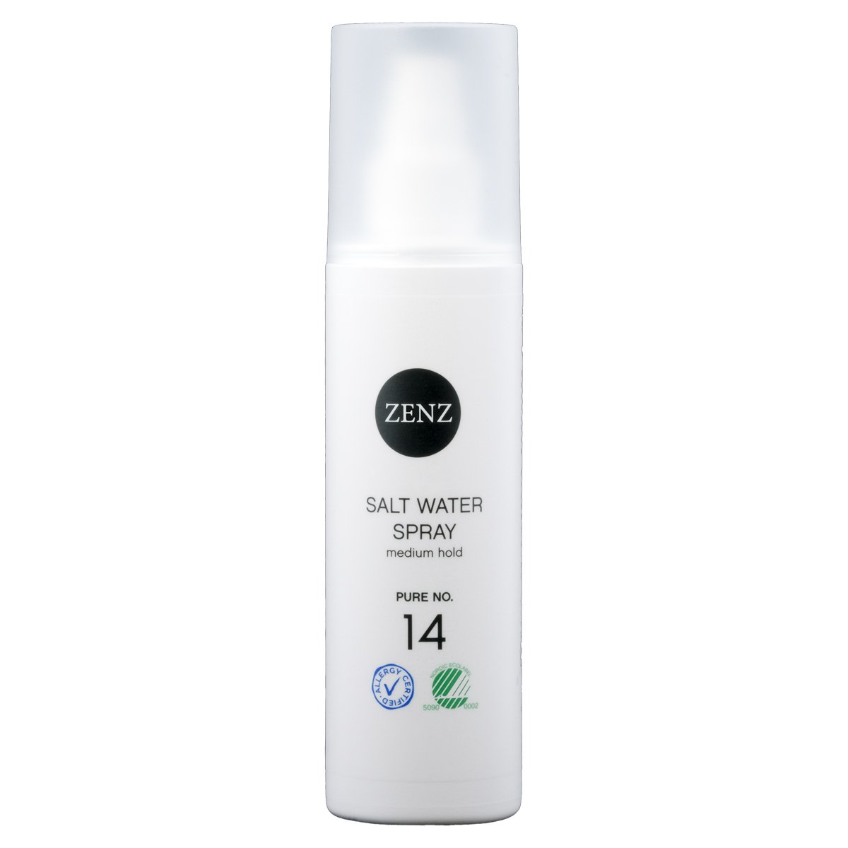Zenz No.14 Pure Salt Water Spray for All Hair Type