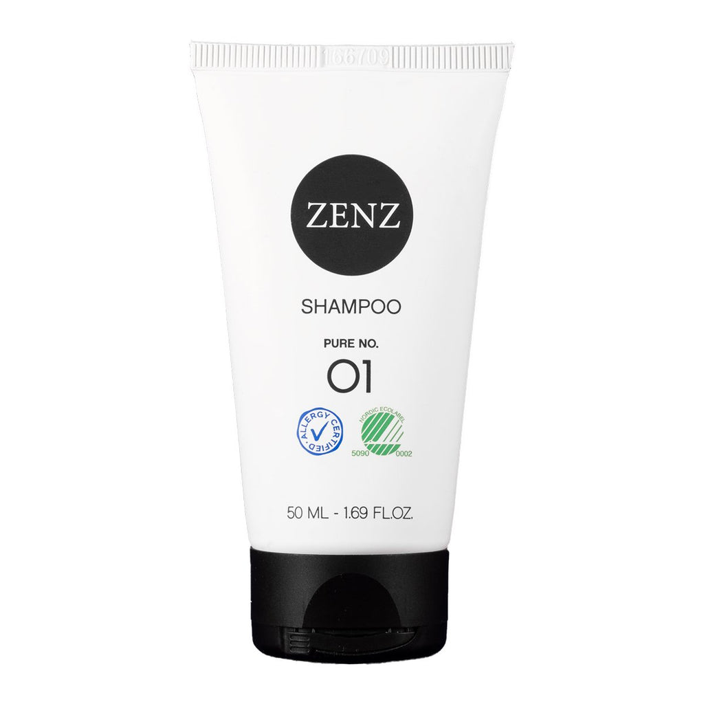 Zenz No.01 Pure Shampoo for Normal / Sensitive Hair 50mL