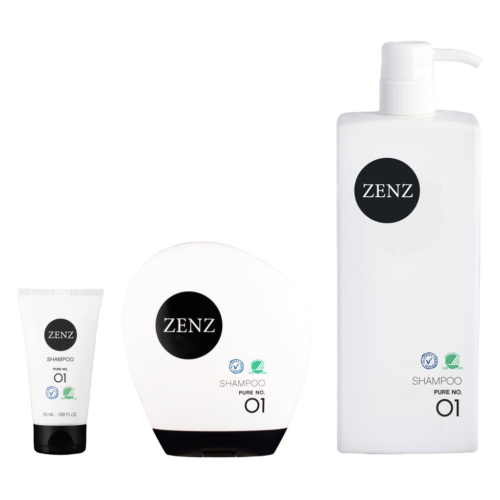 Zenz No.01 Pure Shampoo for Normal / Sensitive Hair