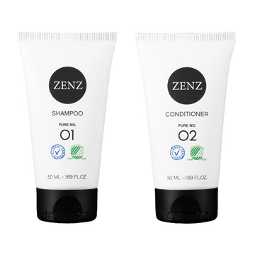 Zenz Pure Travel and Trial Set for Normal or Sensitive Hair