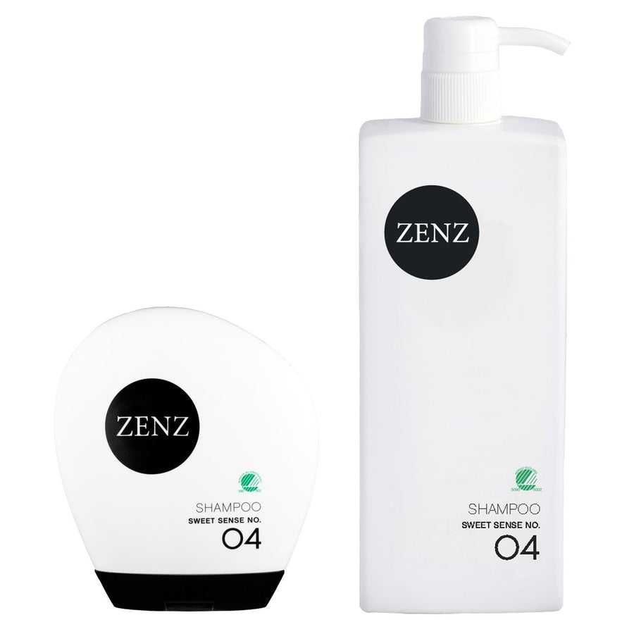 Zenz No.04 Sweet Sense Shampoo for Normal Hair-Fresh Scent of Mandarin