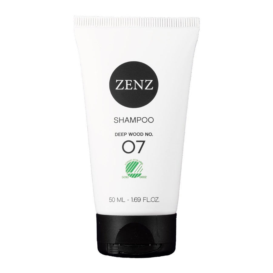 Zenz No.07 Deep Wood Shampoo for Dry / Damaged Hair 50mL