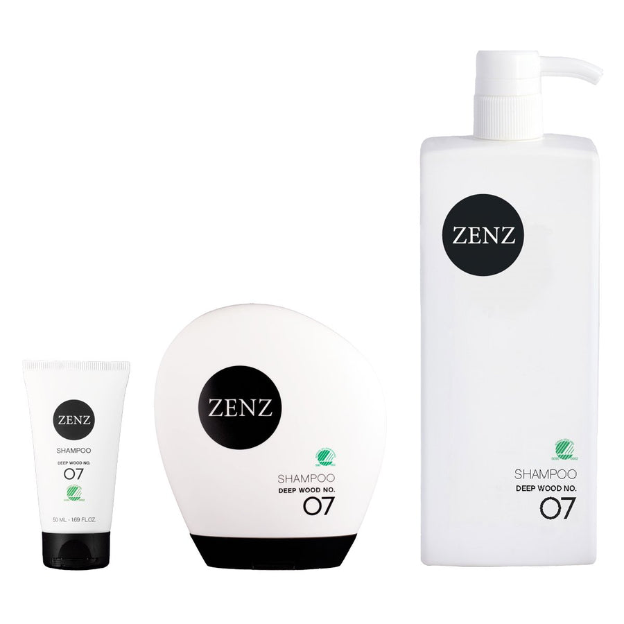 Zenz No.07 Deep Wood Shampoo for Dry / Damaged Hair