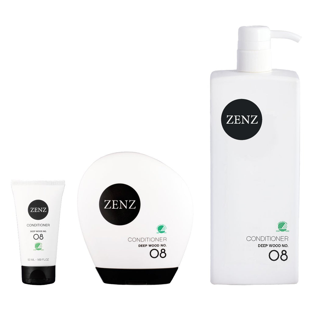 Zenz No.08 Deep Wood Conditioner for Dry / Damaged Hair