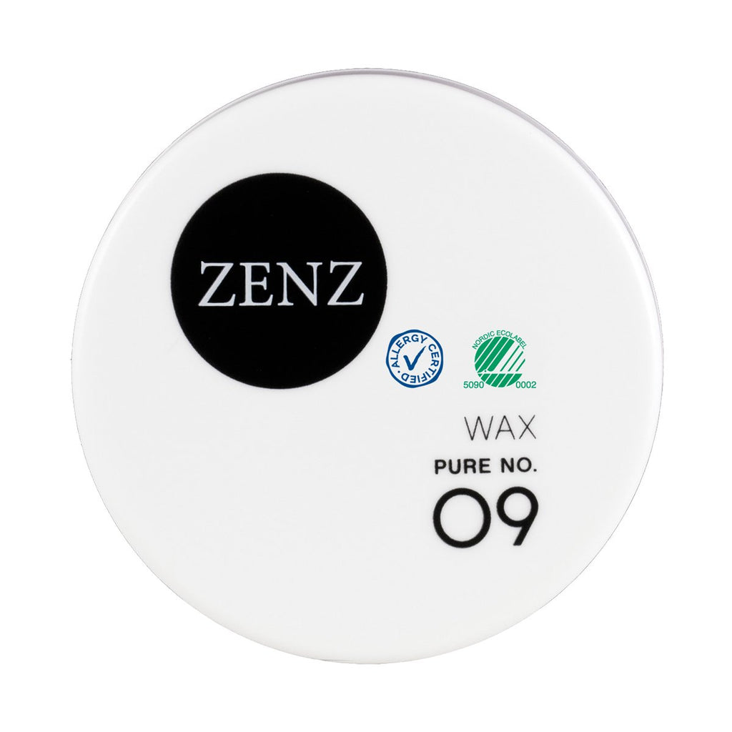 Zenz No.09 Pure Styling Wax for All Hair Type