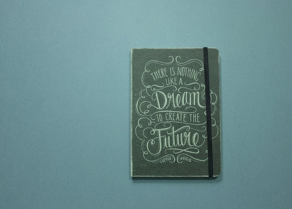 Studio Oh! Notebook Compact Deconstructed Journal, Chalkboard Dream Hardcover.