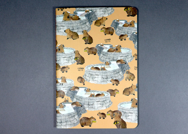 A Piece(s) of Paper (Capybara in Blank or Dotted)