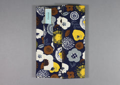Pnovae Cloth Covered Notebook -  FLOWER BURST