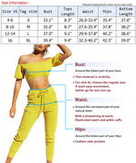 Load image into Gallery viewer, Women Off Shoulder 2 Pieces Outfits Tracksuit Strapless Crop Tops Sweatpants Set