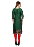 Green South Yog Style Kurti