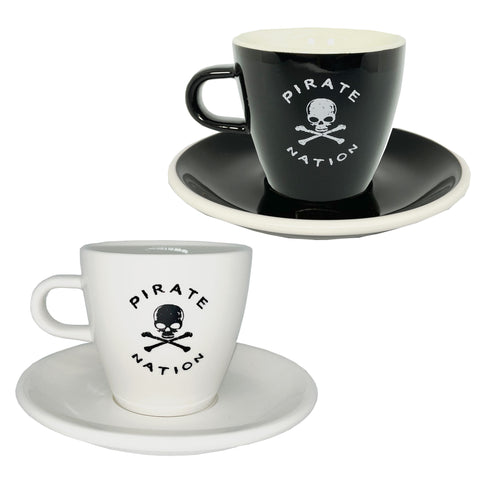 Pirate Nation 170ml Cups & Saucers (2)