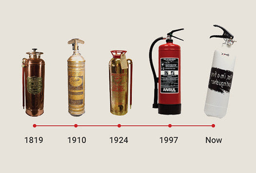 History of Fire Extinguishers