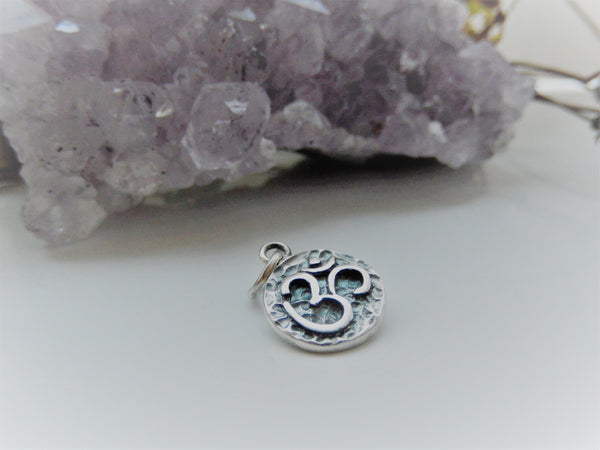 Antique OM pendant ॐ