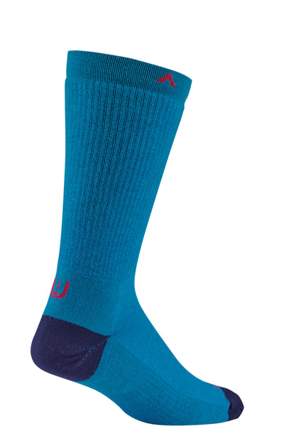 Wigwam walking sock Forge in Seaport blue