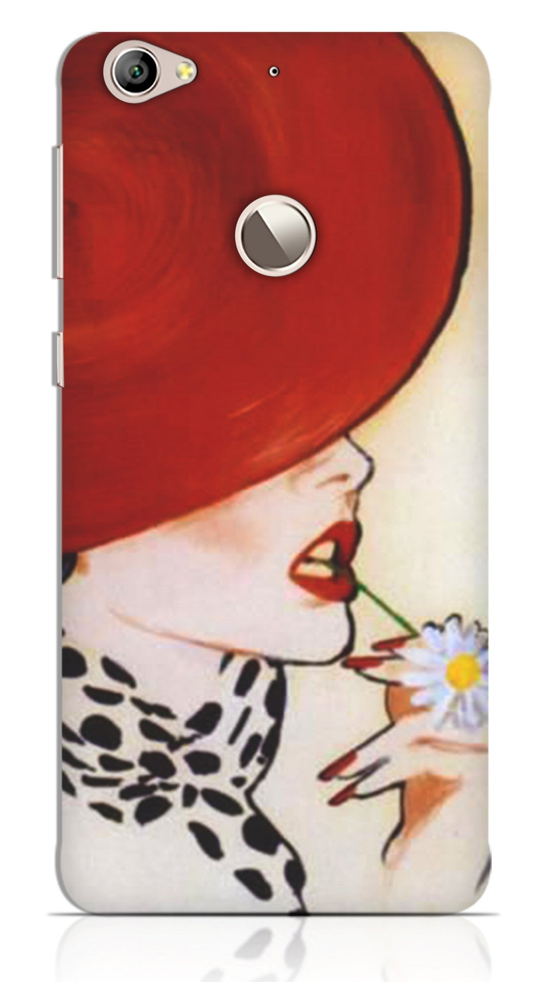 Beautiful Girl With Red Hat Painting Mobile Cover/Case for Letv 1S -  designermobilecovers