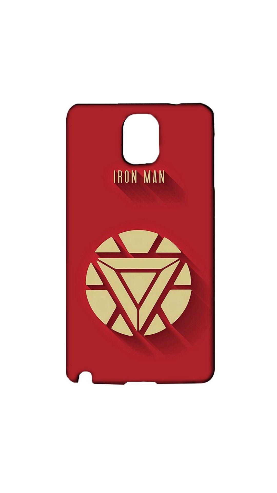 Symbol Of Iron Man Case For Samsung Galaxy NOTE 3 - designermobilecovers