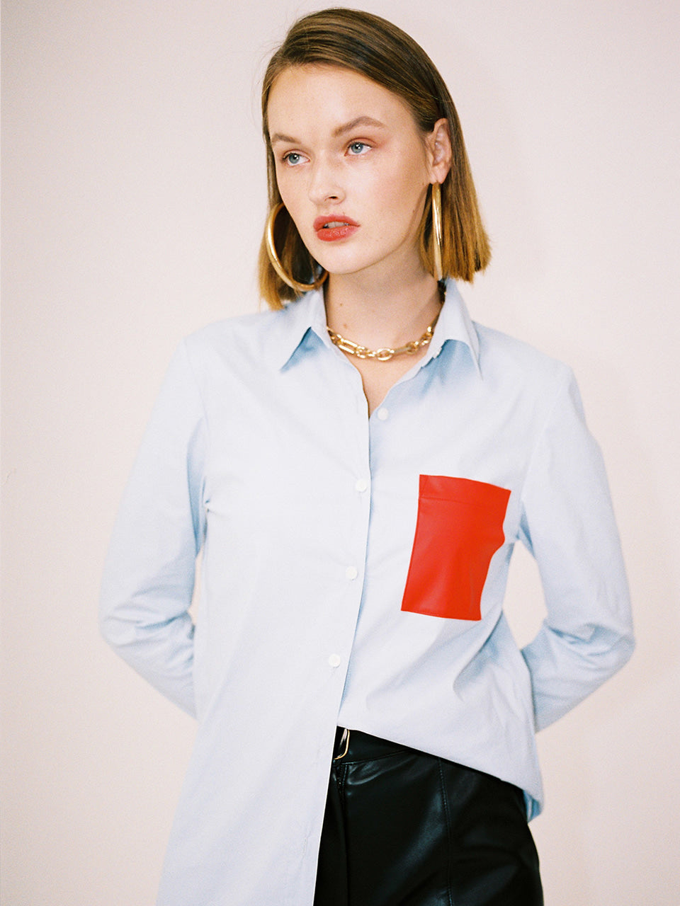 BRIANNA POCKET SHIRT