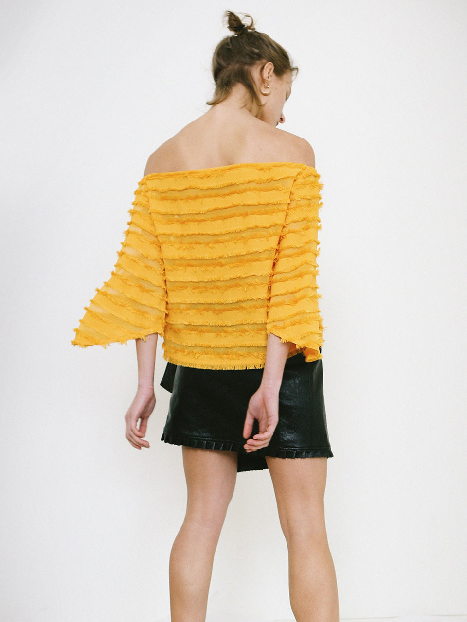 NALA OFF SHOULDER TOP_YELLOW
