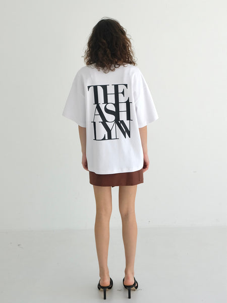 BEN OVERSIZED BACK LOGO T
