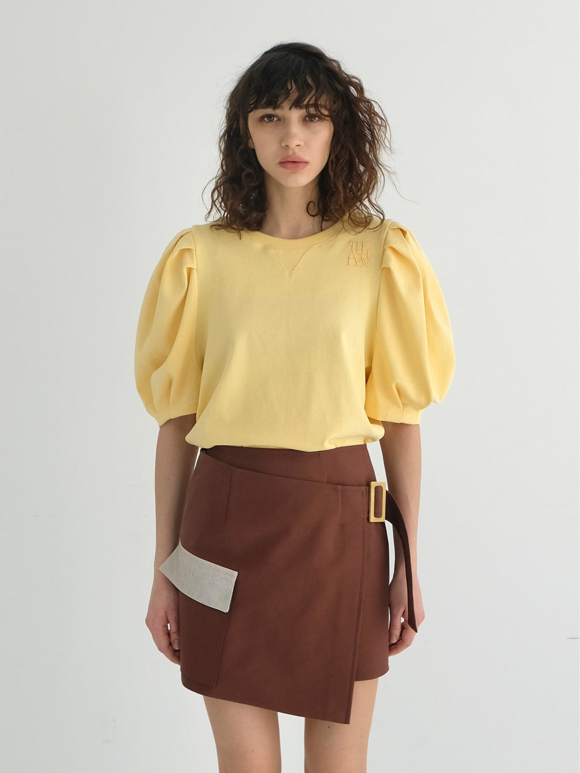 NEW MIA PUFF SLEEVES TOP (4 COLORS)