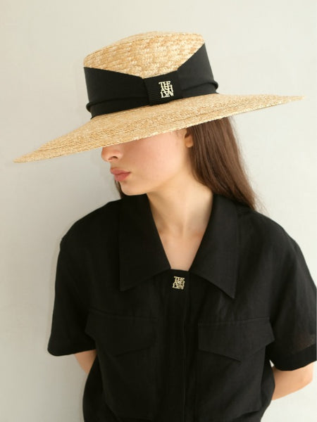 LARGE SUMMER STRAW HAT
