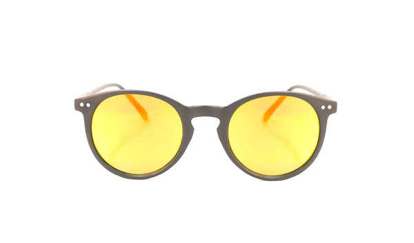 Gafas de sol redondas Sap Orange Nui Optics